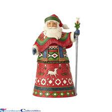 Jim Shore Heartwood Creek 6001463 Lapland Santa with Staff 2018