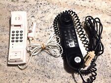 LOT 2 TÉLÉPHONES FIXES FILAIRES SANS SOCLE (LE NOIR PHILIPS)