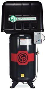 CP RCP-7581VQP 7.5HP 80 Gallon 2Stage 208-230V 1PH Quiet Enclosed Air Compressor