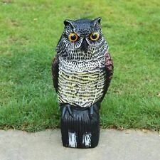Owl Sculpture Garden Decor Resin Wild Bird Garden Animal Ornament Statue Decor