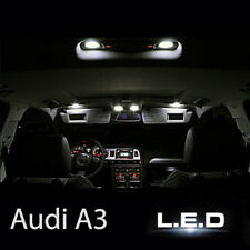 Audi A3 8P S3 Sportback RS3 / Kit ampoules à LED pour l'éclairage intérieur