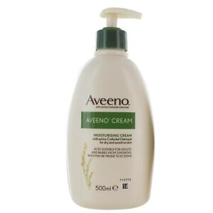 Aveeno Moisturising Cream 500ML (Large Bottle)