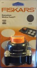 "Fiskars Everywhere Window Punch for Creating Perfect Round 2"" Windows on Card"