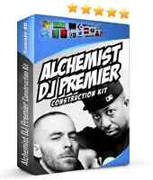 DJ Premier Alchemist Construction Loops Kit WAV REX2 Pro Tools Reason MPC Rap