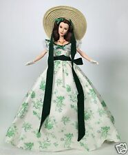GONE WITH THE WIND SCARLETT O'HARA BARBECUE AT TWELVE OAKS COA USED