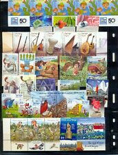 Israel 2010 Complete Year Set - Mint Tabs and Souvenir Sheets COMPLETE!