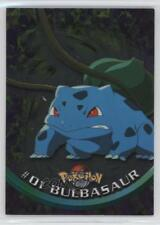 1999 Topps Pokemon TV Animation Edition Series #1 Bulbasaur Card 1o8