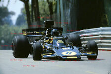 JACKY ICKX JPS Lotus 72E Gran Premio di Spagna 1975 fotografia 3