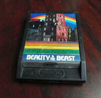 Vintage 1982 iMagic Intellivision Beauty & the Beast Video Game Cartridge