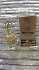 ROBERTO CAVALLI  eau de parfum  mini splash 0.17 oz...New...