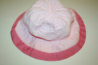 NWT BABY GAP TODDLER GIRLS PINK SUN HAT M/L 4-5 YEARS MEDIUM LARGE BABYGAP