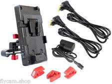 Camtree DSLR 15mm V Mount Battery Plate Power Supply System 5D2 BMCC
