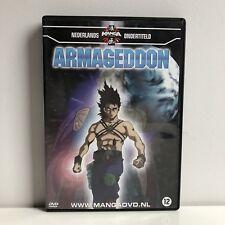 Armageddon Manga Anime DVD NL Subs Dutch Version