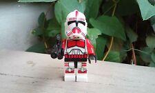 Star Wars Stock Trooper Red Clone Trooper figure NEW