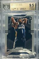 2019-20 Panini Prizm Zion Williamson Rc Bgs 9.5 Gem Mint