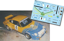 Decal 1:43 Beny Fernandez - PORSCHE 911 SC - Rally El Corte Ingles 1981 Winner