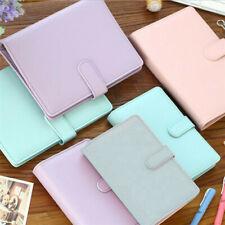 More details for a5 notebook binder budget planner organizer cover pockets cash wallet pu leather