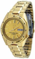 Seiko 5 Gold Plated Strap Wristwatches