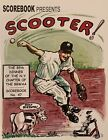 2008 NY 85TH MLB BASEBALL WRITERS DINNER PROGRAM-SCOOTER COVER BY BILL GALLO