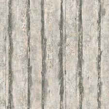 Tapeten für Wohnzimmer & Steine im Landhaus-Stil aus Holz
