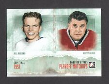 ITG Forever Rivals Playoff Matchups Bill Barilko Gerry McNeill Card Look! #PM-06