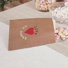 Love is Sweet Candy Bags x 25 Wedding party celebration
