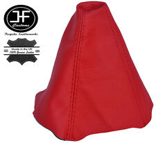 RED LEATHER MANUAL GEAR GAITER SHIFT BOOT FITS CITROEN C2 2003-2009
