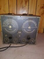 Vintage Sweep Signal Generator model A-400 approved electronics instrument co NY