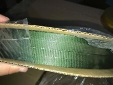 "Bally Ribbon Mills Twill 1"" Webbing 6000 Breaking Strength 1"" Width Olive Drab"