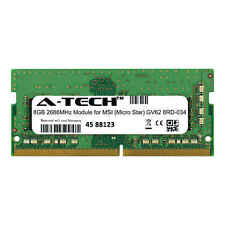 A-Tech 8Gb 2666Mhz Ddr4 Ram for Msi Gv62 8Rd-034 Laptop Notebook Memory Upgrade