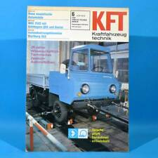 DDR KfT Kraftfahrzeugtechnik 6 1976 Shiguli-Kombi IFA W 50 QEK Junior Bastei 27