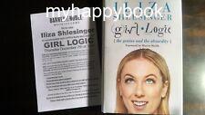 SIGNED Girl Logic by Iliza Shlesinger, youtube, autographed, new