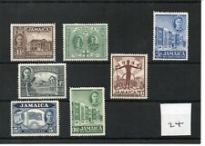 Jamaica - George V1  (24) 1945 - New Constitution - 7 vals set - mint SG Cat £12