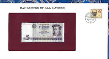 Banknotes of All Nations GDR East Germany 1975 5 Mark UNC P 27a IH003947 Low