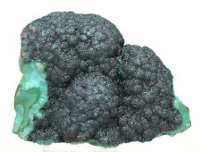 Botryoidal Malachite Crystal Cluster Mineral Specimen Bubbles Congo Africa