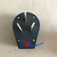 Replacement 50 amp 220 Volt 3 prong plug  Electrical RV Welder 220V 2.95inch
