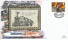 (94381) GB Isle of Man Benham copre treni Vittoriano giorni 22 gennaio 2001