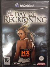 Nintendo GameCube Cube WII WWE Day of Reckoning 2 NUOVO FACTORY SEALED  >ITA<