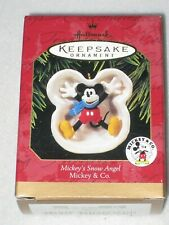 Mickey'S Snow Angel Mickey & Co Walt Disney Hallmark Keepsake Ornament 1997