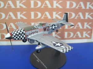 Die cast 1/72 Modellino Aereo Aircraft P-51D Mustang Big Beautiful Dog USA