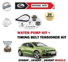 Pour VW Scirocco 2.0 R 2009   > Neuf Tendeur Courroie Distribution + Pompe Eau