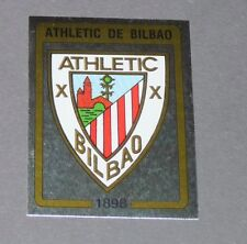N°1 BLASON BADGE ATHLETIC BILBAO PANINI LIGA FUTBOL 87 ESPAÑA 1986-1987 FOOTBALL