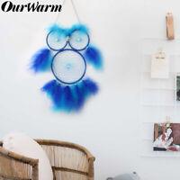 Owl Handmade Dream Catcher Girl Boy Gift Boho Nursery Wall Hanging DreamCatcher