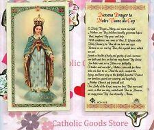 Novena Prayer to Notre Dame du Cap - Laminated  Holy Card