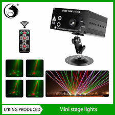 Uking48 Pattern Laser Projector Stage Light Mini LED RGB Party Disco DJ KTV Lamp