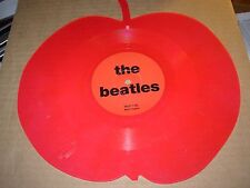 """BEATLES interview ( rock ) 7"""" / 45 - red apple shaped -"""