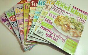 8 x SUPER FOOD IDEAS MAGAZINES - 2004