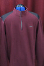 NWT Mens Calvin Klein - X-Large Dark Primula Dressy Refined 1/4 Zip New XL