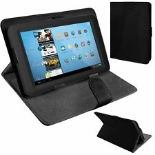 "Universal Leather Stand Folding Folio Case Cover Pouch For 7"" Tablets"
