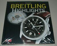 Henning Mützlitz: Bildband Breitling Uhren Uhr Highlights Heel Buch Neu!